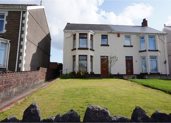 Thumbnail 3 bed semi-detached house for sale in Crymlyn Road, Neath