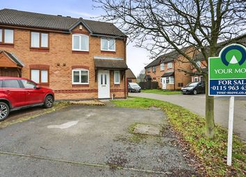 Thumbnail 3 bed semi-detached house for sale in Webb Street, Newstead Village, Nottingham