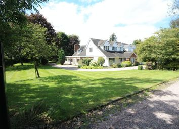 Thumbnail 4 bed detached house for sale in Chase Lane, Sandyford, Stone