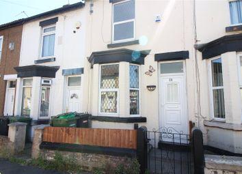 Thumbnail 2 bed terraced house to rent in Woodville Road, Birkenhead, Merseyside