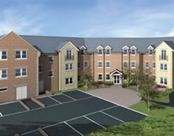 "Thumbnail 2 bed flat for sale in ""Windsor Court Plots 22, 35"" at Park View, Alnwick"