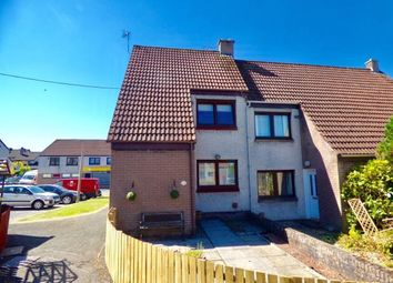 Thumbnail 2 bed end terrace house for sale in Hill Court, Lockerbie, Dumfries And Galloway