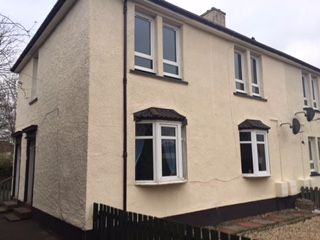 Thumbnail 1 bed flat for sale in Welfare Avenue, Cambuslang, Glasgow