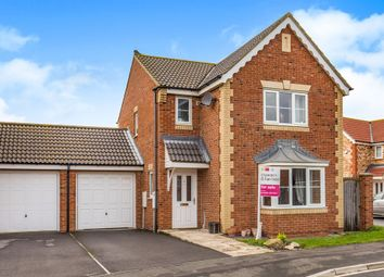 Thumbnail 3 bed detached house for sale in Sedgewick Close, Hartlepool