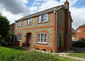 Thumbnail 4 bed detached house for sale in Appleshaw Way, Bishopdown, Salisbury