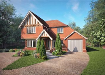 Thumbnail 4 bed detached house for sale in Thorn Road, Boundstone, Farnham