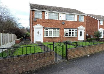 Thumbnail 3 bedroom semi-detached house for sale in Station Road, Wombwell, Barnsley, South Yorkshire