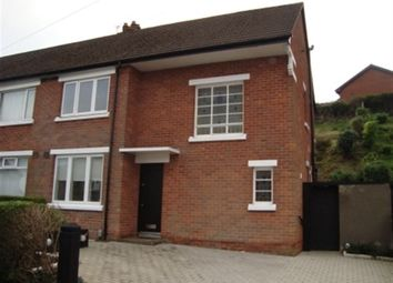 Thumbnail 3 bedroom semi-detached house to rent in Galwally Park, Belfast