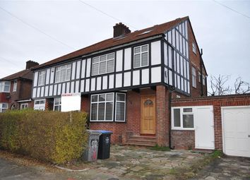 Thumbnail 4 bedroom semi-detached house for sale in Coniston Gardens, Kingsbury, London