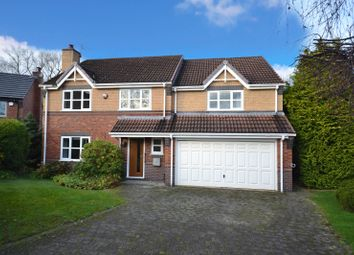 Thumbnail 4 bed detached house for sale in Orchard Crescent, Nether Alderley, Macclesfield