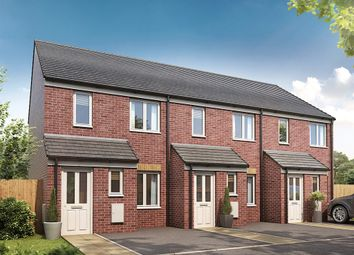 "Thumbnail 2 bed semi-detached house for sale in ""The Alnwick "" at Bellona Drive, Peterborough"