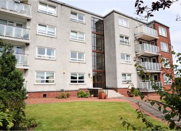 Thumbnail 2 bed flat for sale in 8 Terregles Drive, Glasgow