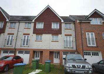 Thumbnail 4 bed town house for sale in Waterside Close, London