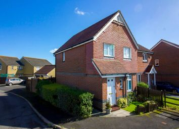 Thumbnail 3 bed semi-detached house for sale in Kipping Close, Hawkinge, Folkestone