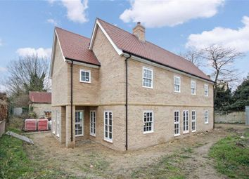 Thumbnail 5 bedroom detached house for sale in Low Road, Burwell, Cambridge