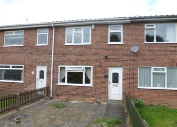 Thumbnail 3 bed terraced house to rent in Ryemere Close, Eastwood, Nottingham