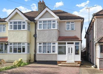 Thumbnail 3 bed semi-detached house for sale in Daleside Road, West Ewell, Epsom