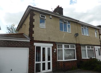 Thumbnail 3 bed semi-detached house to rent in Foremark Avenue, Derby