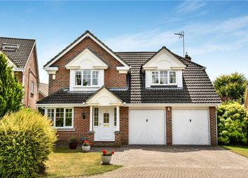Thumbnail 4 bed detached house for sale in Seymour Drive, Camberley, Surrey