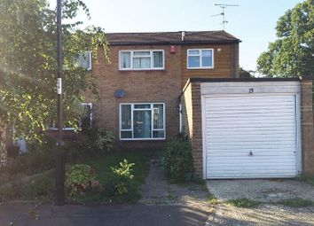 Thumbnail 3 bed end terrace house to rent in Clayton Hill, Crawley, West Sussex.
