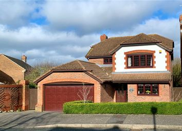 Thumbnail 4 bed detached house for sale in Roman Way, Warfield, Bracknell
