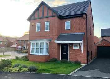 Thumbnail 4 bed detached house to rent in Wheatcroft Drive, Nottingham