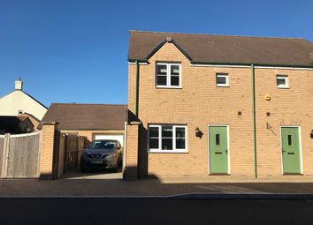 Thumbnail 3 bed semi-detached house for sale in Nunwick Way, Swindon