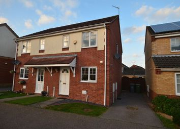 Thumbnail 2 bed semi-detached house for sale in Fleetwood Drive, Thorpe St. Andrew, Norwich