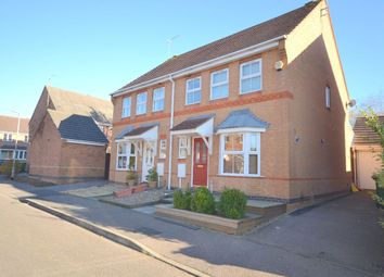 Thumbnail 3 bed semi-detached house for sale in Campbell Close, Towcester