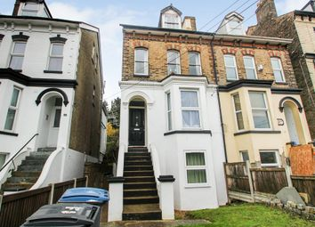 Thumbnail 2 bed flat for sale in Folkestone Road, Dover