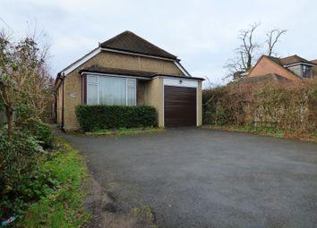 Thumbnail Detached bungalow for sale in Loddon Bridge Road, Woodley, Reading