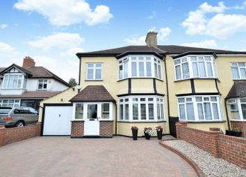 Thumbnail 3 bed semi-detached house for sale in Redford Avenue, Wallington