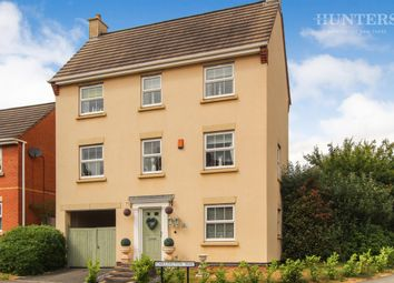Thumbnail 4 bed detached house for sale in Chillington Way, Norton Heights