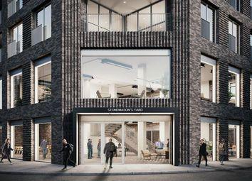Thumbnail Office to let in Stonemasons Yard, 1 Hepscott Road, Hackney Wick, London
