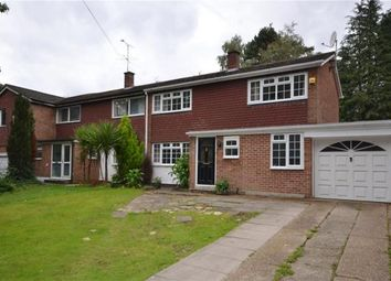 Thumbnail 3 bed semi-detached house for sale in Upper Chobham Road, Camberley, Surrey