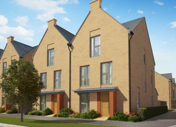 """Thumbnail 4 bed semi-detached house for sale in """"The Stapleford"""" at Heron Road, Northstowe, Cambridge"""