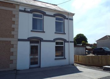 Thumbnail 3 bed semi-detached house for sale in Bethania Road, Upper Tumble, Llanelli