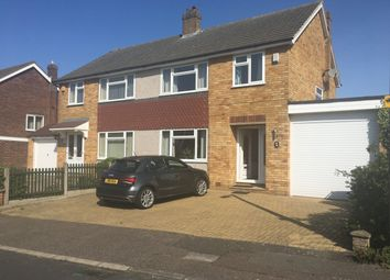 Thumbnail 3 bed semi-detached house for sale in Pembroke Drive, Waltham Cross, Hertfordshire