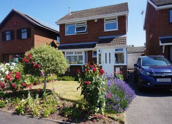 Thumbnail 3 bed detached house for sale in Canberra Crescent, Meir Park, Stoke On Trent, Staffordshire