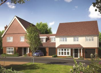Thumbnail 4 bed link-detached house for sale in Sycamore Gardens, Epsom