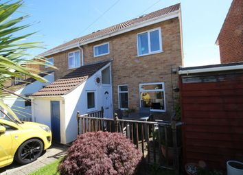 Thumbnail 3 bed semi-detached house for sale in Fosseway, Clevedon