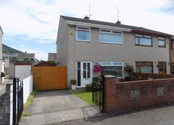 Thumbnail 3 bed semi-detached house for sale in Brookway Close, Baglan, Port Talbot, Neath Port Talbot.