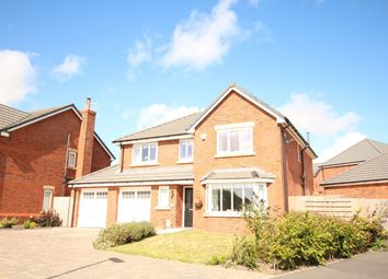 Thumbnail 4 bedroom detached house for sale in Benedict Drive, Blackpool