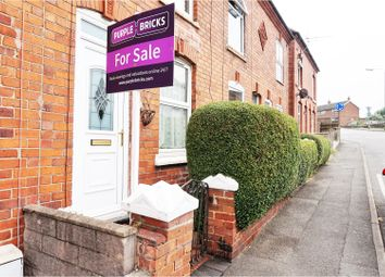 Thumbnail 2 bed terraced house for sale in Parliament Street, Newhall, Swadlincote
