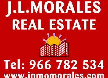 Thumbnail 4 bed apartment for sale in Central, Catral, Alicante, Valencia, Spain
