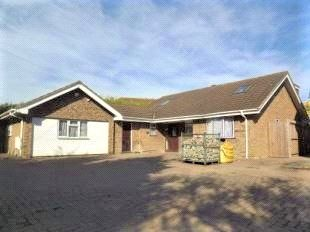 Thumbnail 5 bed detached bungalow for sale in Brompton Lane, Rochester, Kent