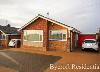 Thumbnail 2 bed detached bungalow for sale in Upper Grange Crescent, Caister-On-Sea, Great Yarmouth