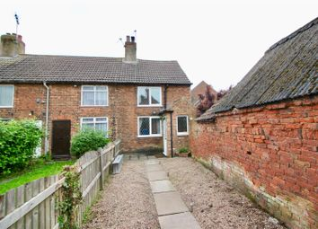 Thumbnail 2 bed end terrace house for sale in Newcastle Street, Tuxford, Newark