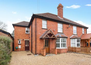 Thumbnail 4 bed semi-detached house for sale in Challow Road, Wantage