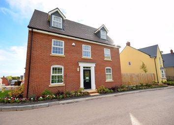 Thumbnail 5 bedroom detached house for sale in Sandoe Way, Westclyst, Pinhoe